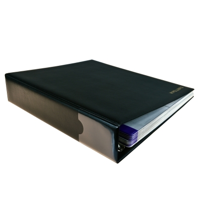 Collection Album with 200 Pockets for Standard Cardboard Coin Holders