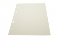 White interleaving pages (binder type XL)
