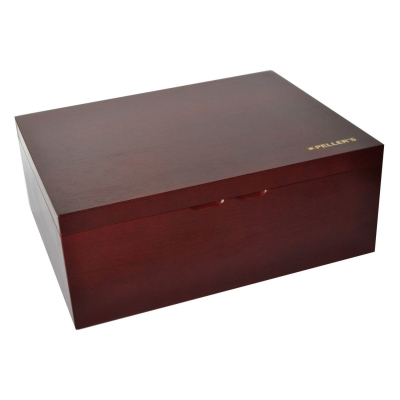 Wooden chest for coin or medal trays size XXL