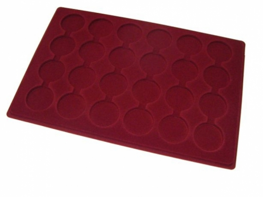 Coin tray with 24 compartments: Ø41