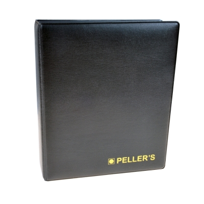 Coin album S with 10 pages for 200 small size coins up to Ø22.5mm