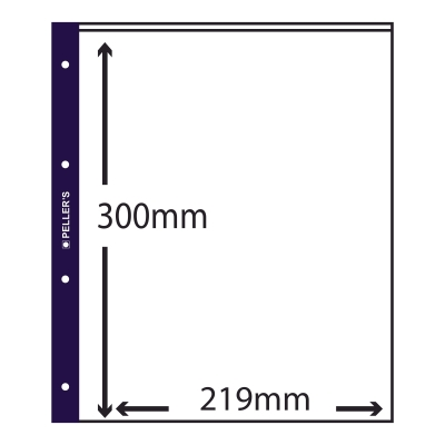 10 Collectors Sleeves, 1 Pocket 219mm X 300mm
