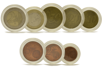 EURO SET Capsules for euro coins