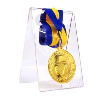 Transparent easels medals