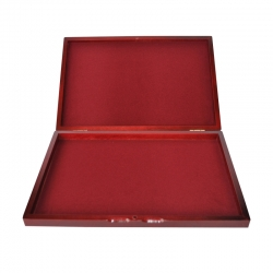 Wooden chest for coin or medal tray size S