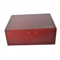 Wooden chest for 5 coin boxes