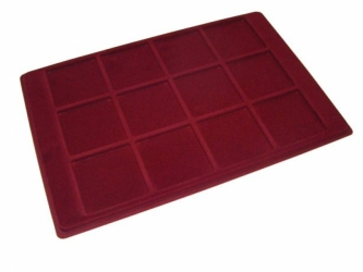Coin tray with 12 compartments: 64mm x 64mm