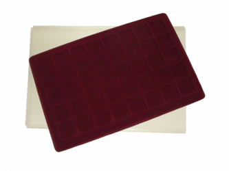 Coin tray with 40 compartments:34mm x 34mm