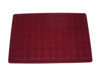 Coin tray with 77 compartments:23mm x 23mm