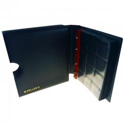 Coin ringbinder with pages for 206 coins