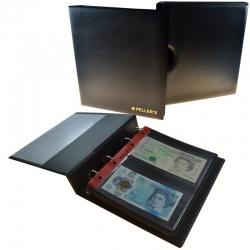 Álbum de monedas para 20 billetes de banco