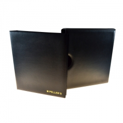 Coin album M with 10 pages for 206 mixed size coins up to Ø40mm