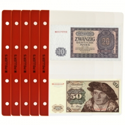10 Pages for 2 banknotes (binder type M)