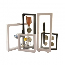 3D Frame VISIO Soft. for coins, pins, stones and many more